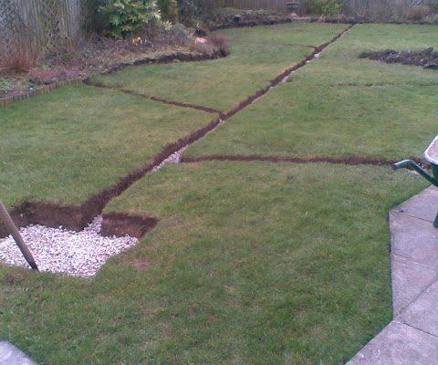 garden drainage and landscape - Garden Drainage